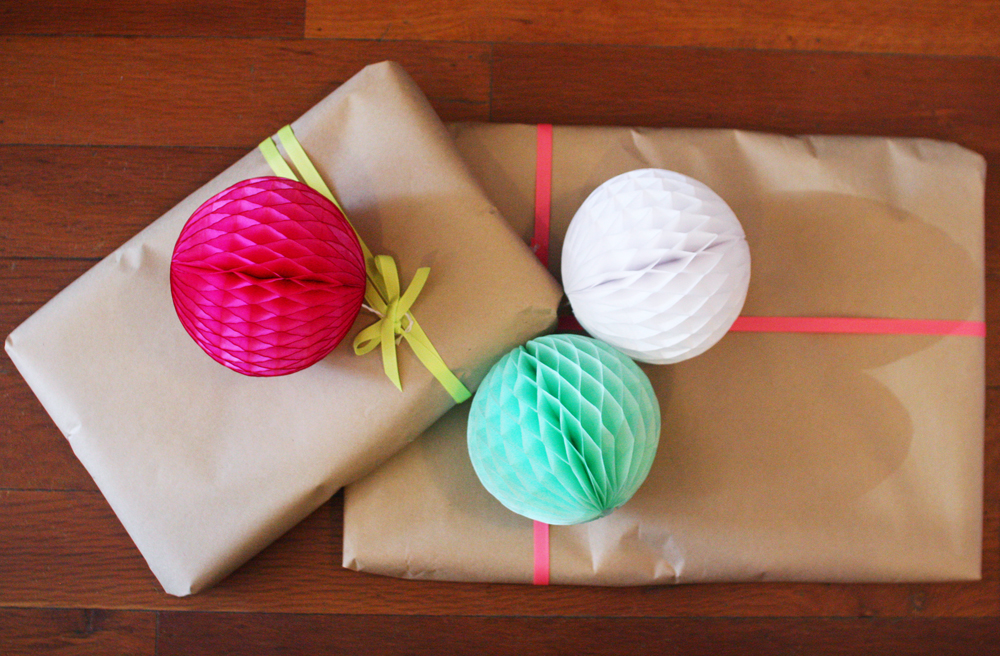 How to make paper tissue balls