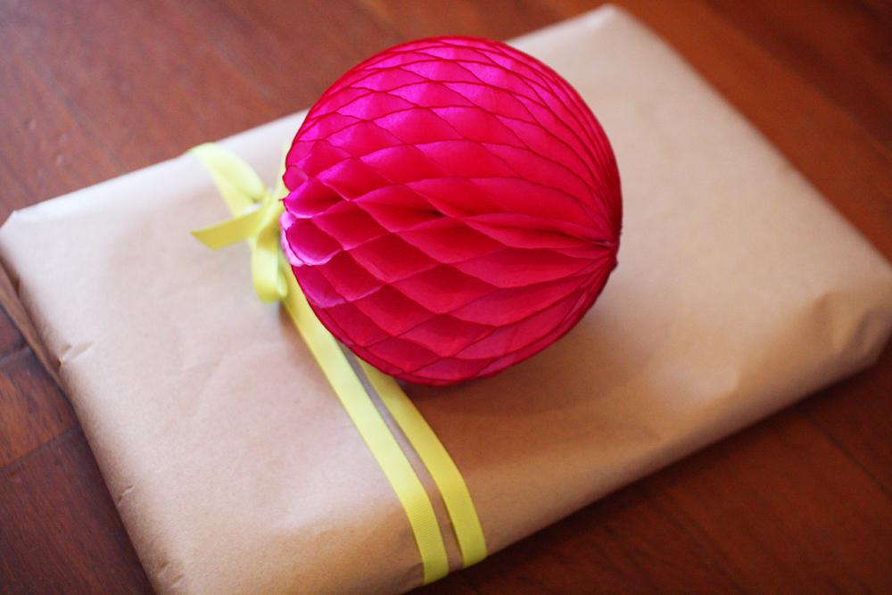 paper tissue balls