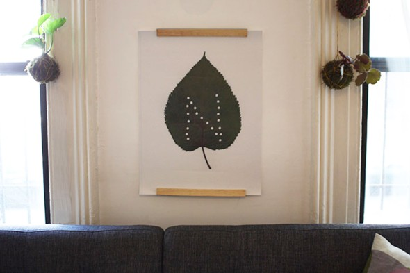 leaf print 1